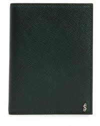 Stefano Serapian - Evolution Leather Passport Case - - Lyst