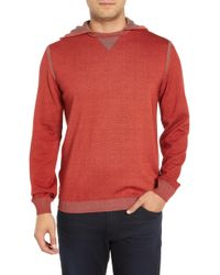 Bugatchi - Hooded Pullover - Lyst