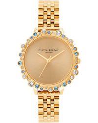 Olivia Burton Bejewelled Under The Sea Bubble Bracelet Watch - Metallic