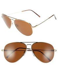 Electric - 'av1 Xl' 62mm Aviator Sunglasses - - Lyst