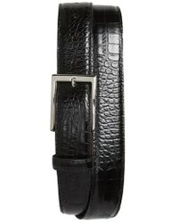 Torino Leather Company - Gator Grain Embossed Leather Belt - Lyst