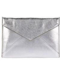 Rebecca Minkoff - Leo Leather 13-inch Laptop Case - - Lyst