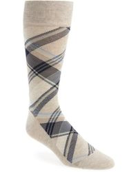 Cole Haan - Plaid Socks - Lyst