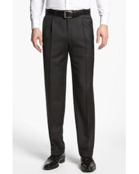 Canali - Pleated Trousers - Lyst