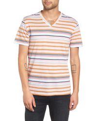 The Rail - V-neck T-shirt - Lyst