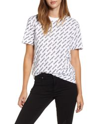 Kendall + Kylie - Oversize Tee - Lyst