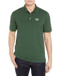 Cutter & Buck - Green Bay Packers - Advantage Regular Fit Drytec Polo - Lyst