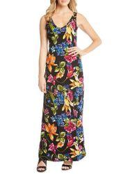 Karen Kane - Alana Botanica Maxi Dress - Lyst