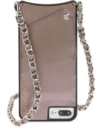 Bandolier - Lucy Faux Leather Iphone 7/8 & 7/8 Plus Crossbody Case - - Lyst