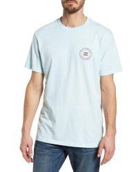 Billabong - Native Rotor Ca Graphic T-shirt - Lyst