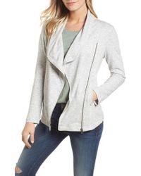 Caslon - Caslon Stella Knit Jacket - Lyst