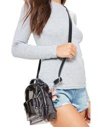 Missguided - Bp. Perspex Mini Backpack - Lyst