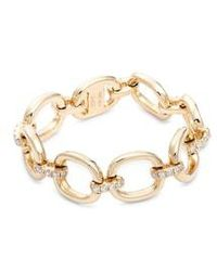 EF Collection - Diamond Chain Link Ring - Lyst