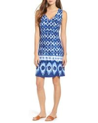 Tommy Bahama - Innercoastal Ikat Sleeveless Dress - Lyst