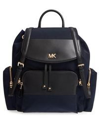 MICHAEL Michael Kors - Large Nylon Diaper Backpack - Lyst