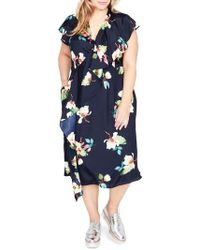 RACHEL Rachel Roy - Magnolia Midi Dress - Lyst