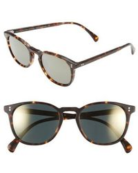 Oliver Peoples | 'finley' 51mm Polarized Sunglasses | Lyst
