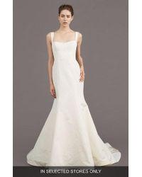 Amsale - Mave Silk Blend Mermaid Gown - Lyst