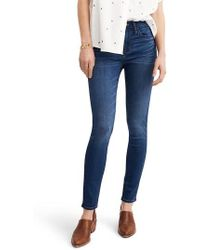 Madewell - Roadtripper High Waist Skinny Jeans - Lyst