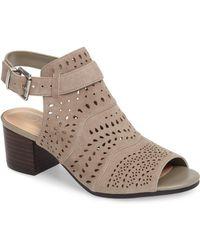Bella Vita - Fonda Perforated Sandal - Lyst
