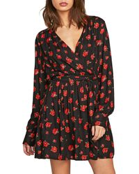 Volcom - Rose To The Top Floral Print Dress - Lyst