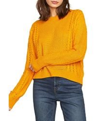 Volcom - Cable Bodied Sweater - Lyst