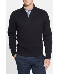 Cutter & Buck - Broadview Half Zip Sweater - Lyst