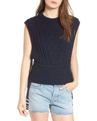 Levi's - Levi's Made & Crafted Aran Sleeveless Sweater - Lyst