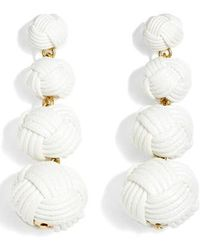 J.Crew | J.crew Love Knot Drop Earrings | Lyst