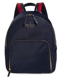 Kate Spade - Watson Lane - Hartley Varsity Stripe Nylon Backpack - Lyst