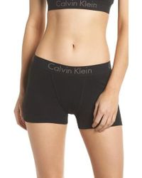 CALVIN KLEIN 205W39NYC - Body Cotton Boyshorts - Lyst