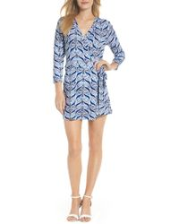 1840039f7465 Lilly Pulitzer - Lilly Pulitzer Karlie Wrap Style Romper - Lyst