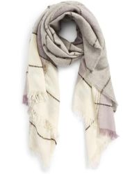 Madewell - Brushed Colorblock Scarf - Lyst