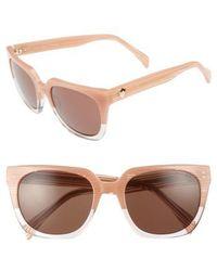 Draper James - 54mm Square Sunglasses - Lyst
