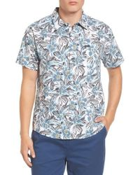 RVCA | Paradise Valley Button Down Shirt | Lyst