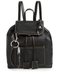 Marc Jacobs - The Bold Grind Leather Backpack - - Lyst