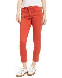 AG Jeans - The Prima Crop Cigarette Jeans - Lyst