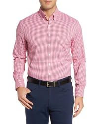 Bobby Jones | Ramsey Easy Care Gingham Sport Shirt | Lyst