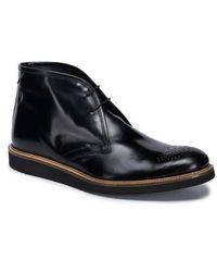 Bugatchi | Verona Brogued Chukka Boot | Lyst