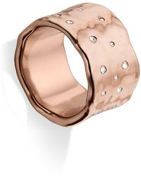 Monica Vinader - Siren Scatter Band Ring - Lyst