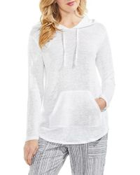 Vince Camuto | Linen Hoodie | Lyst