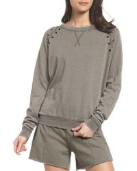 The Laundry Room - Grommet Sweatshirt - Lyst
