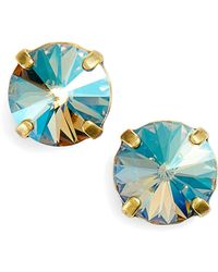 Sorrelli - Radiant Rivoli Crystal Earrings - Lyst