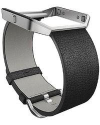 Fitbit - Blaze Leather Smart Watch Band - Lyst