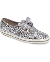 cb873d857cb6 Kate Spade - Keds For Kate Spade New York Glitter Sneaker - Lyst