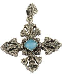 Konstantino - Aegean Large Cross Pendant - Lyst