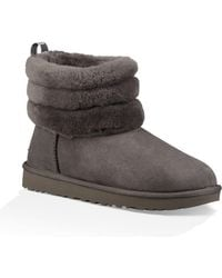 UGG - Fluff Mini Quilted Boots - Lyst