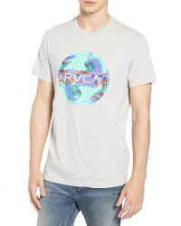 RVCA - Motors Fill Graphic T-shirt - Lyst