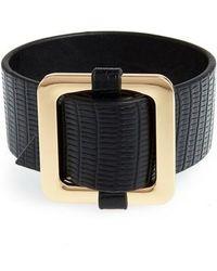 Cara - Buckle Bracelet - Lyst