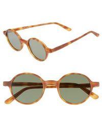 Lgr - Reunion 48mm Sunglasses - Havana Chiaro - Lyst